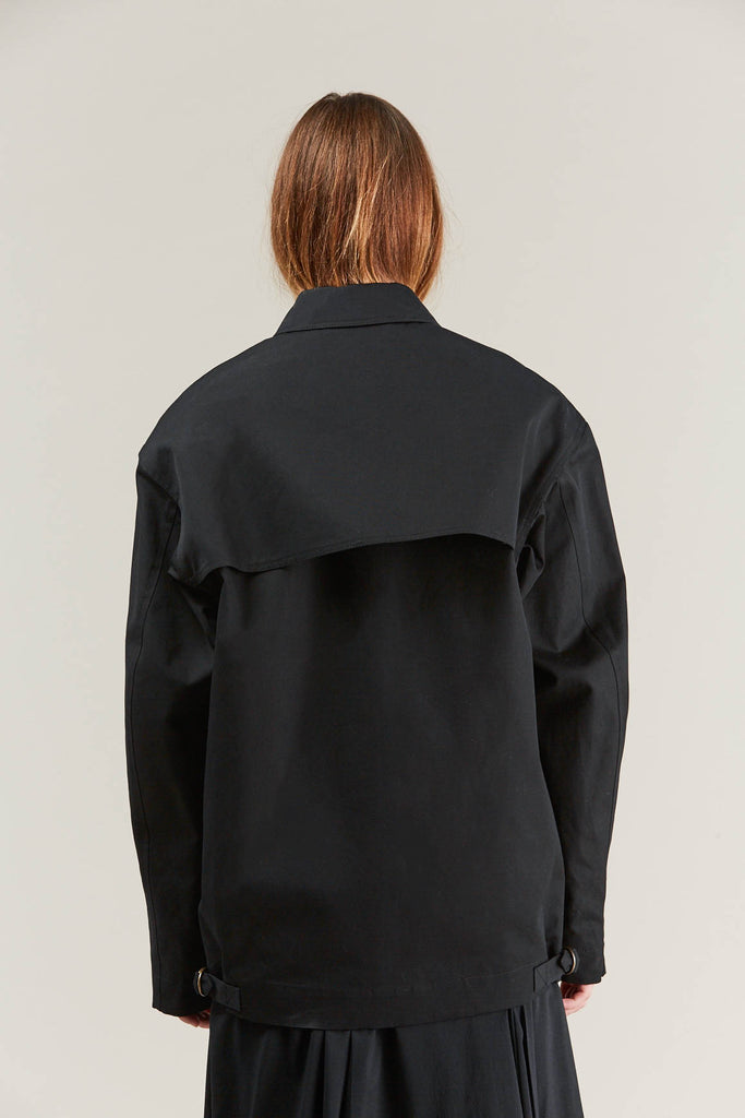Short parka, Black by Lemaire @ Kick Pleat - 8