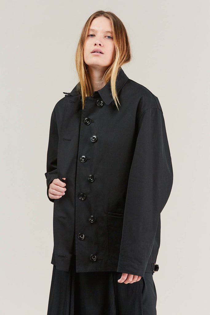 Short parka, Black by Lemaire @ Kick Pleat - 2