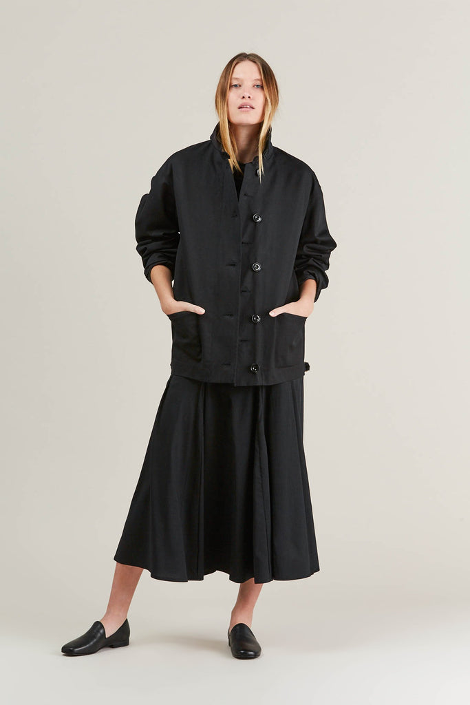 Short parka, Black by Lemaire @ Kick Pleat - 3