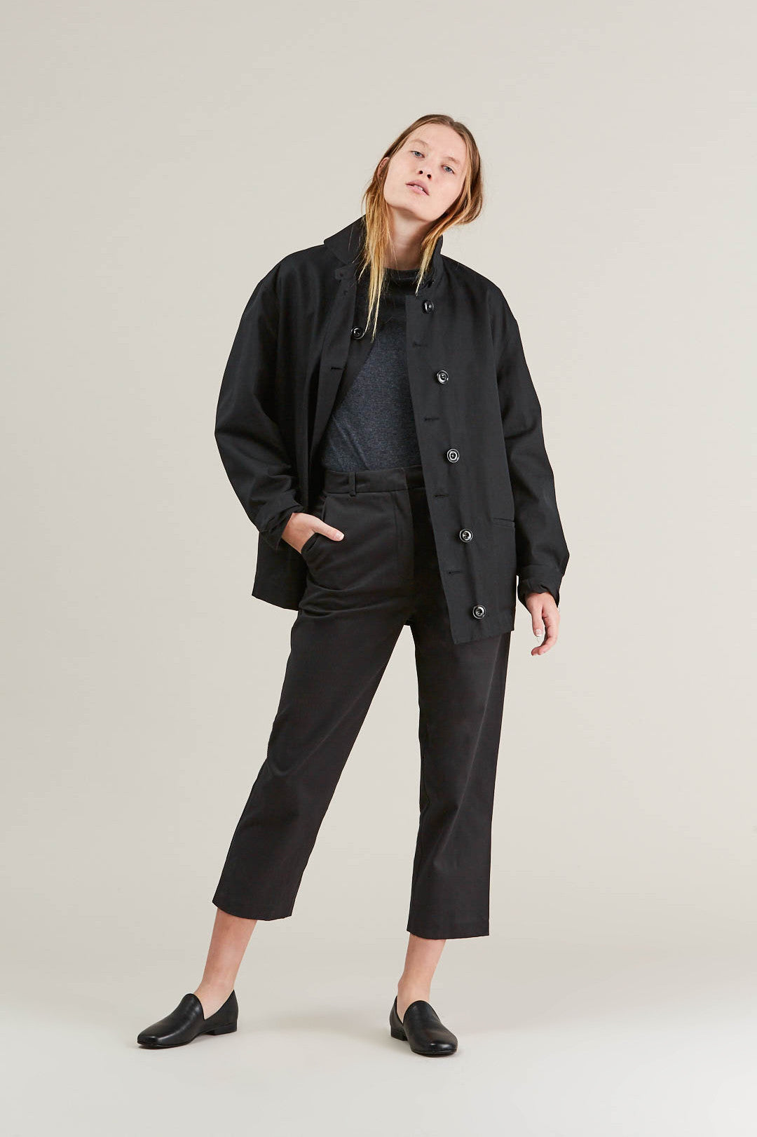 Short parka, Black by Lemaire @ Kick Pleat - 1
