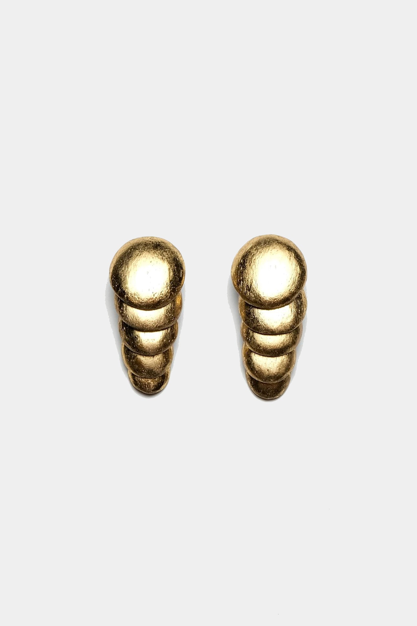 MONIES - ACACIA+GOLD FOIL EARRINGS, gold