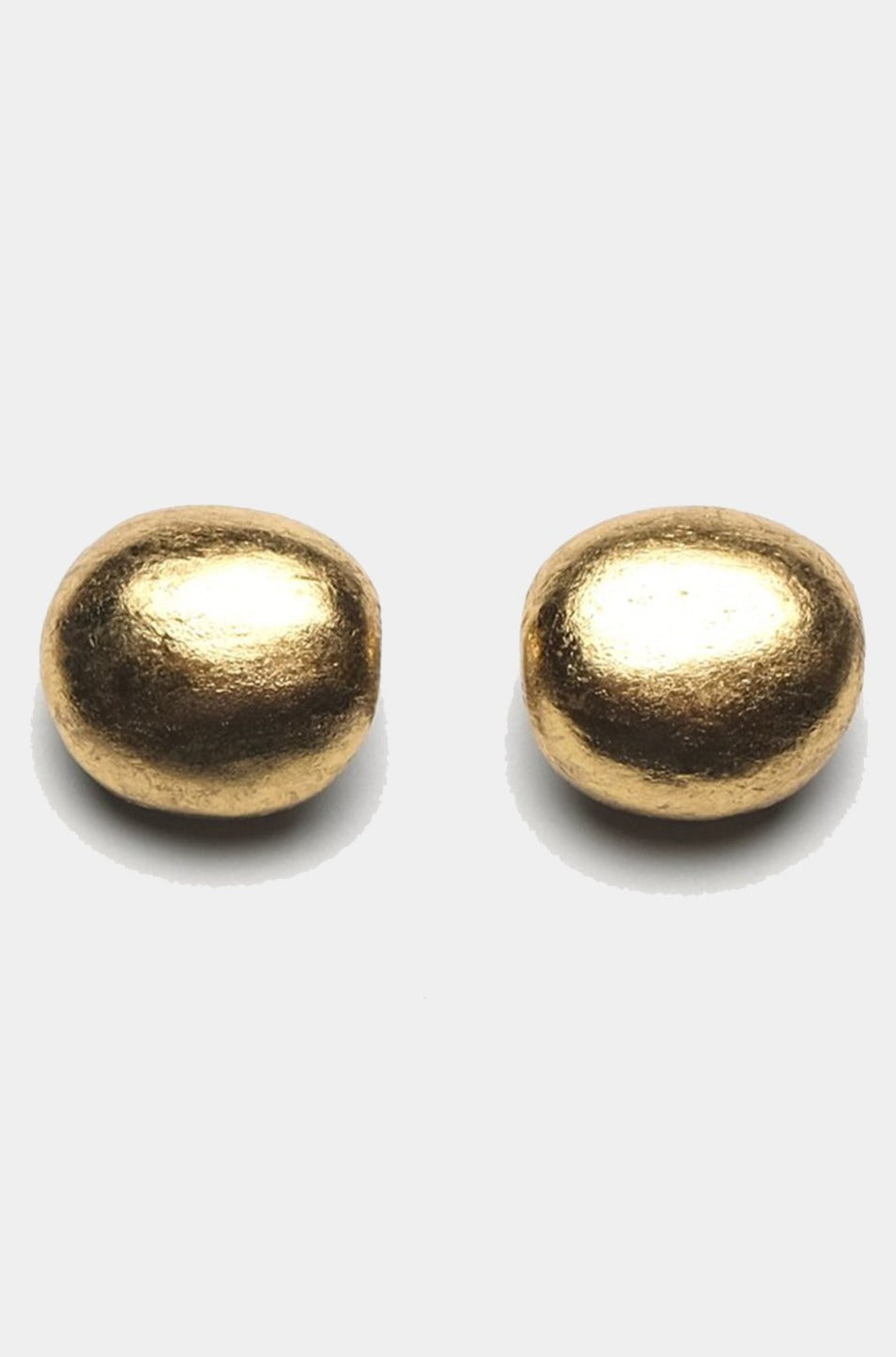 MONIES - ACACIA+GOLD FOIL EARCLIPS, gold