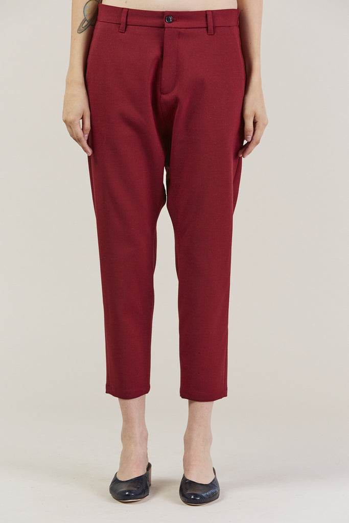 Was Trousers, Red by Hope @ Kick Pleat - 2