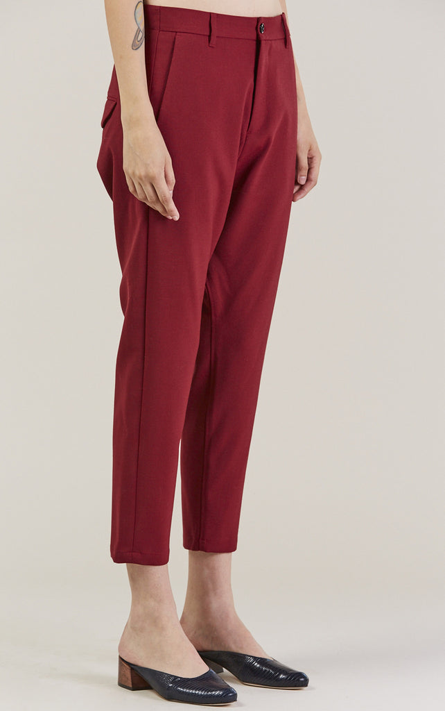 Was Trousers, Red by Hope @ Kick Pleat - 3