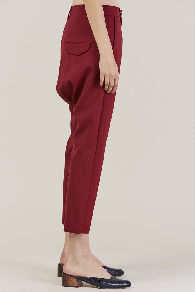 Was Trousers, Red by Hope @ Kick Pleat - 4