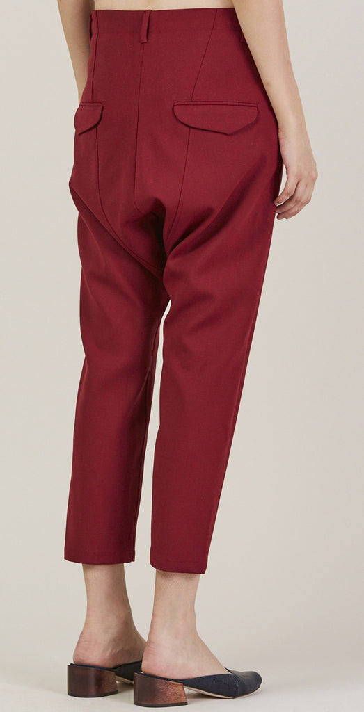 Was Trousers, Red by Hope @ Kick Pleat - 5