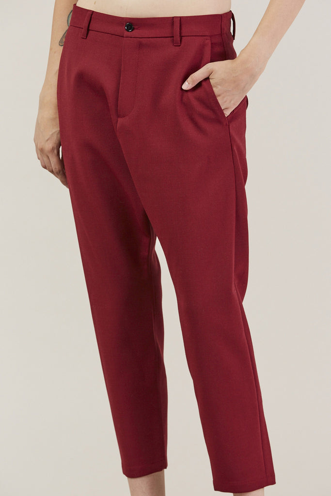 Was Trousers, Red by Hope @ Kick Pleat - 7