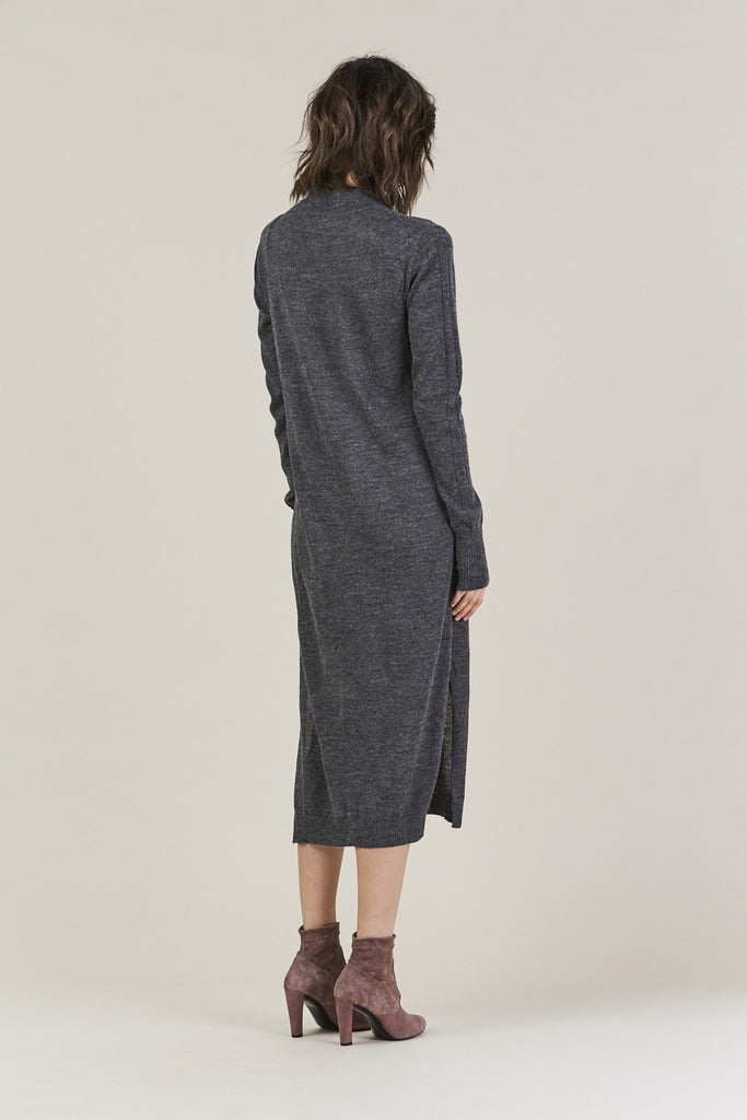 Sanctify Dress, Charcoal by Rachel Comey @ Kick Pleat - 4