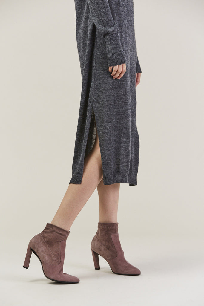 Sanctify Dress, Charcoal by Rachel Comey @ Kick Pleat - 7