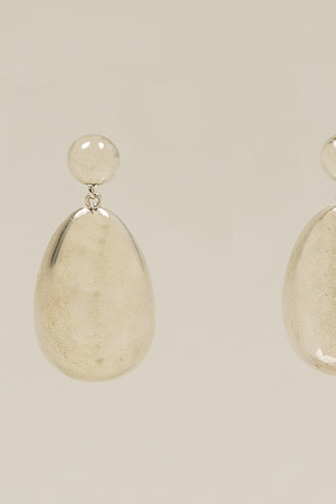 Egg Drop Earrings, Sterling Silver by SOPHIE BUHAI @ Kick Pleat - 2