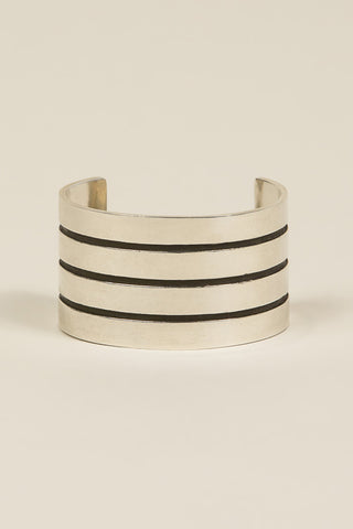 Mapplethorpe 4 Cuff, Silver