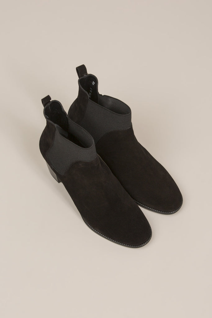 Marty Chelsea Boot, Black by Robert Clergerie @ Kick Pleat - 3