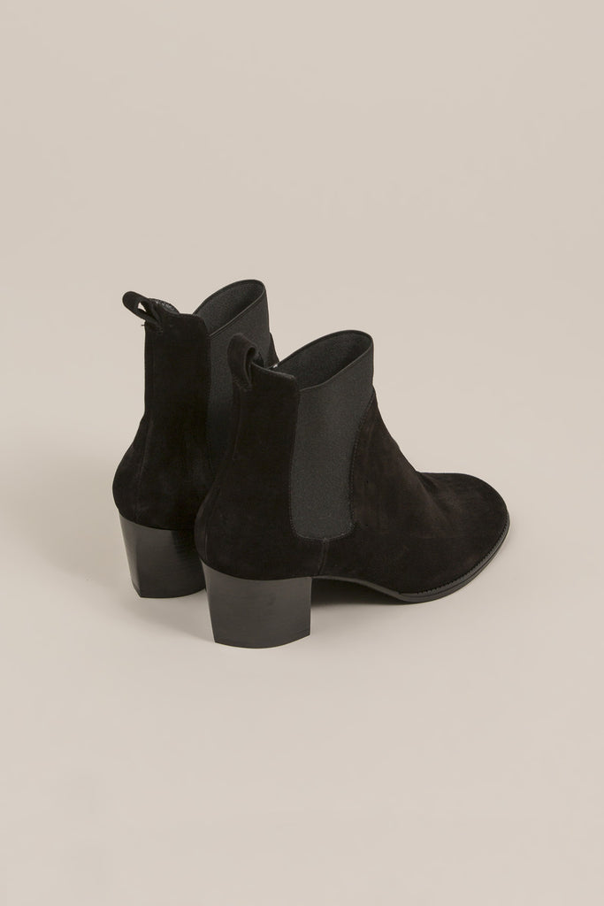 Marty Chelsea Boot, Black by Robert Clergerie @ Kick Pleat - 4