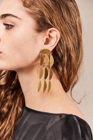 mini rain duster earrings