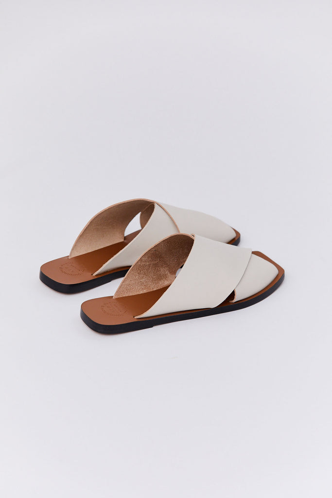 ATP - Alicia Sandals, Ice White