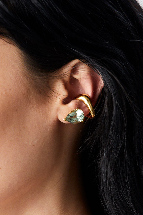 Alien Ear Cuff, Gold