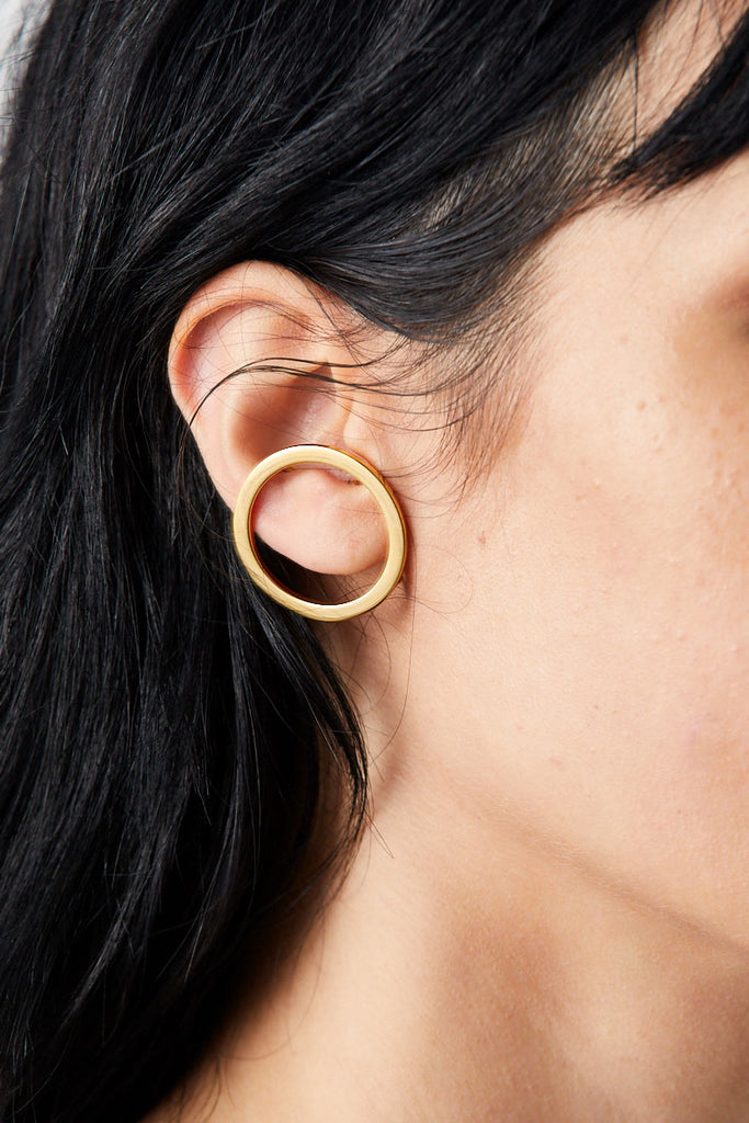 Halo Ear Cuffs, Gold