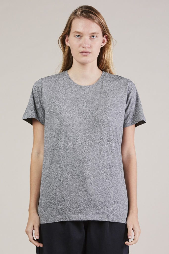 S/S Mercerized tee, Gray
