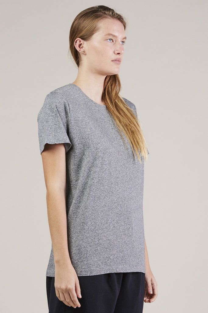 S/S Mercerized tee, Gray by NORSE PROJECTS @ Kick Pleat - 3
