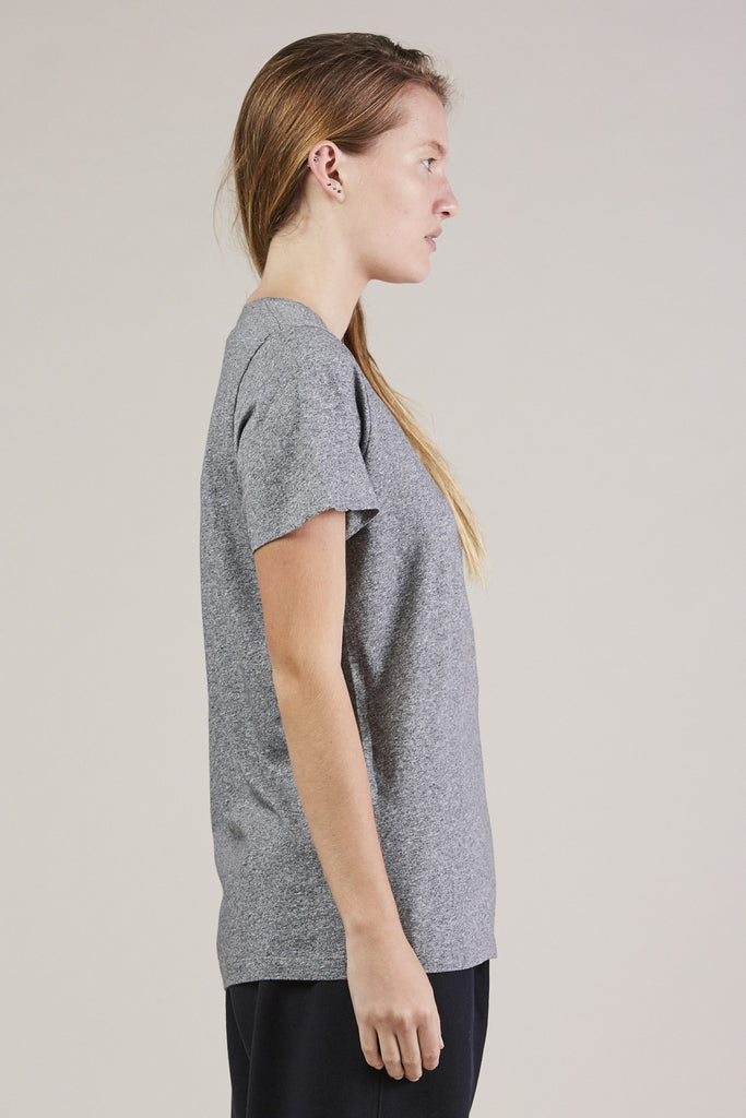 S/S Mercerized tee, Gray by NORSE PROJECTS @ Kick Pleat - 4