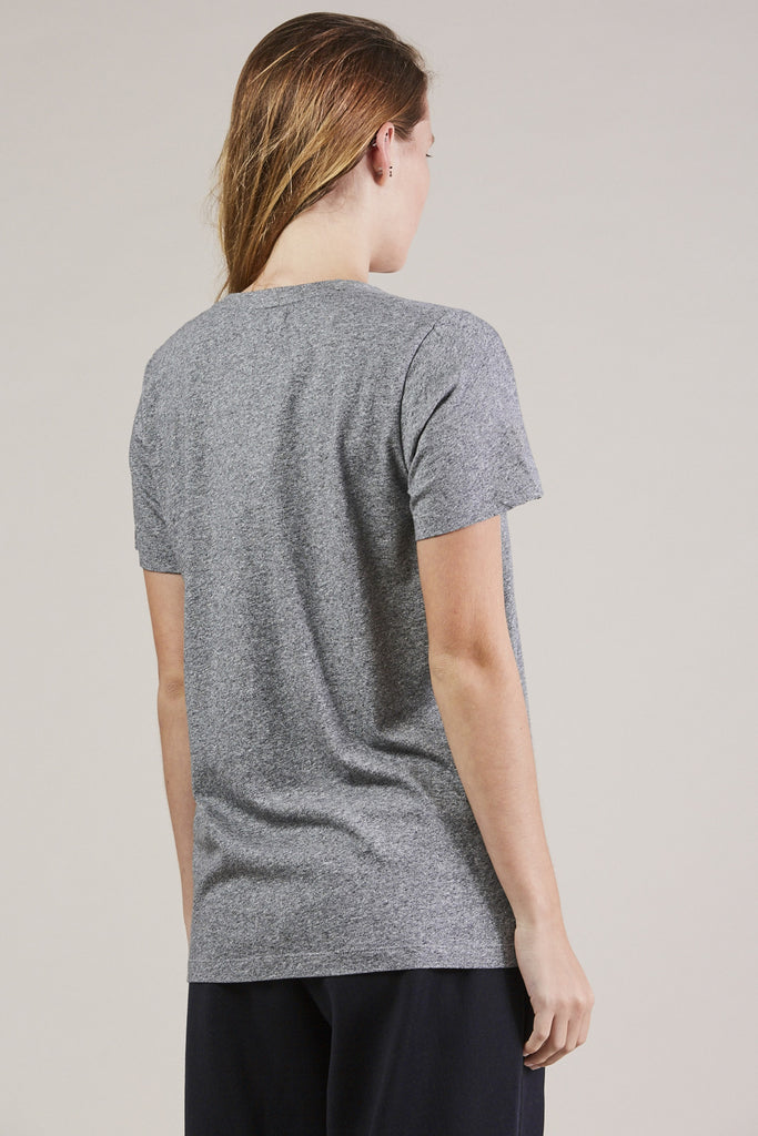 S/S Mercerized tee, Gray by NORSE PROJECTS @ Kick Pleat - 5