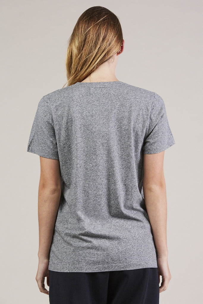 S/S Mercerized tee, Gray by NORSE PROJECTS @ Kick Pleat - 6