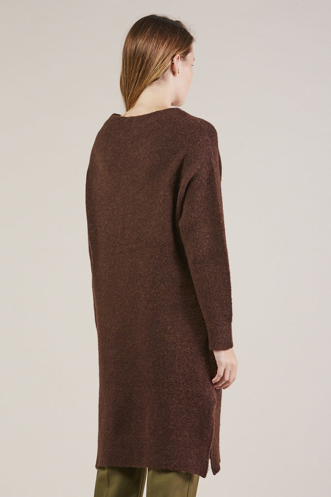 Koral Dress, Chocolate by Christian Wijnants @ Kick Pleat - 4