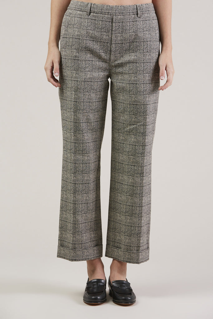 Posma Trousers, Plaid by Christian Wijnants @ Kick Pleat - 2