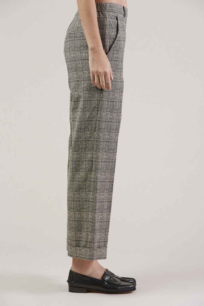 Posma Trousers, Plaid by Christian Wijnants @ Kick Pleat - 4