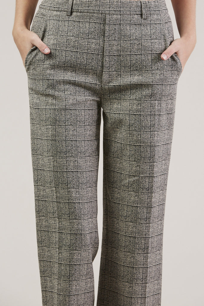 Posma Trousers, Plaid by Christian Wijnants @ Kick Pleat - 7