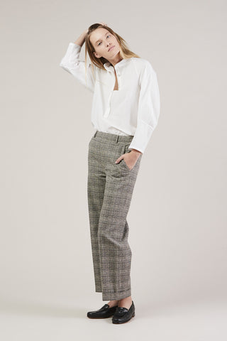 Posma Trousers, Plaid