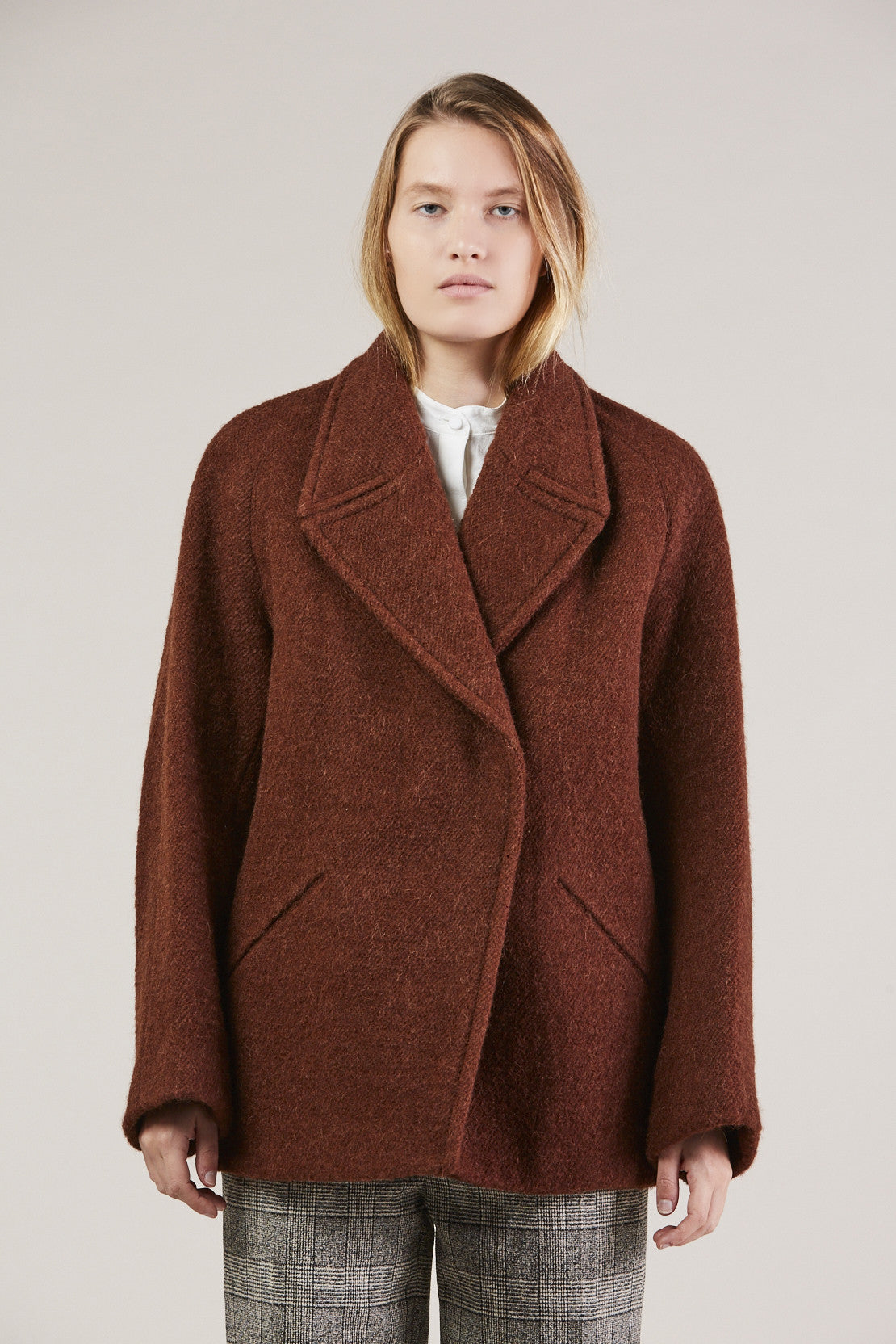 Jacobina Jacket, Rust by Christian Wijnants @ Kick Pleat - 1