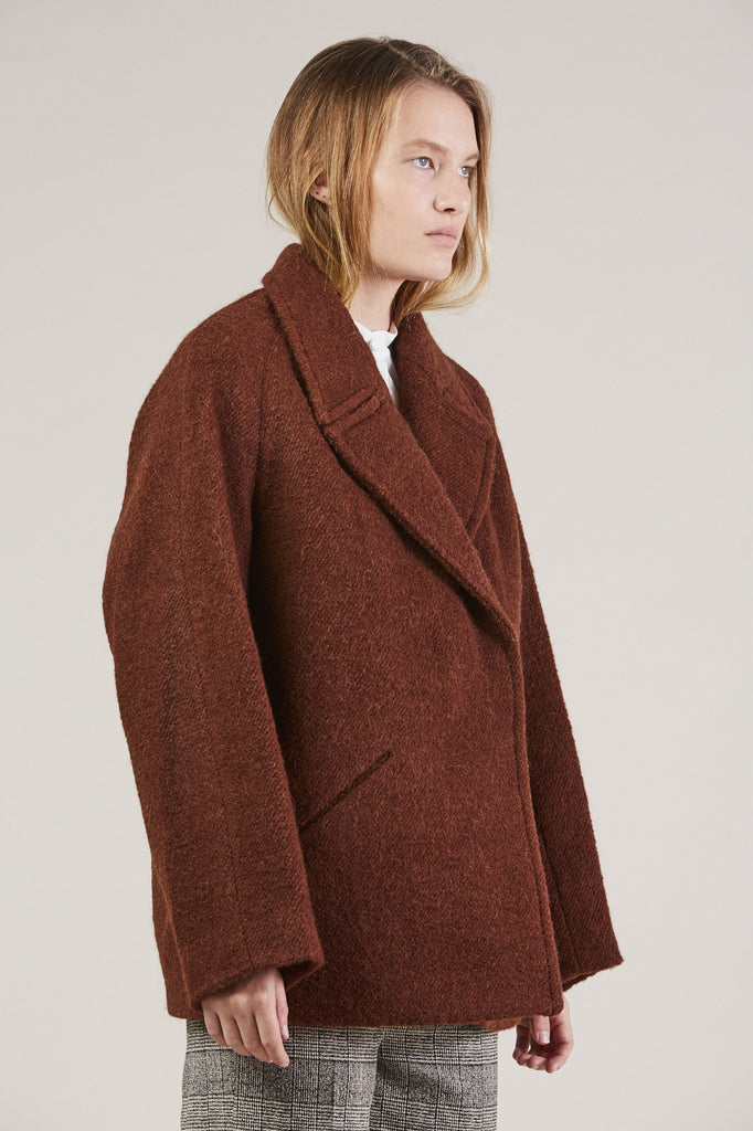 Jacobina Jacket, Rust by Christian Wijnants @ Kick Pleat - 3