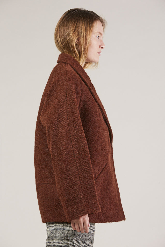 Jacobina Jacket, Rust by Christian Wijnants @ Kick Pleat - 4