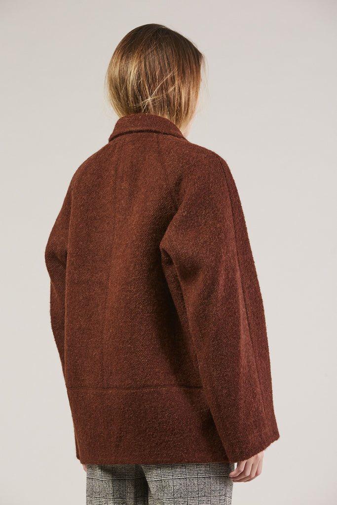 Jacobina Jacket, Rust by Christian Wijnants @ Kick Pleat - 5