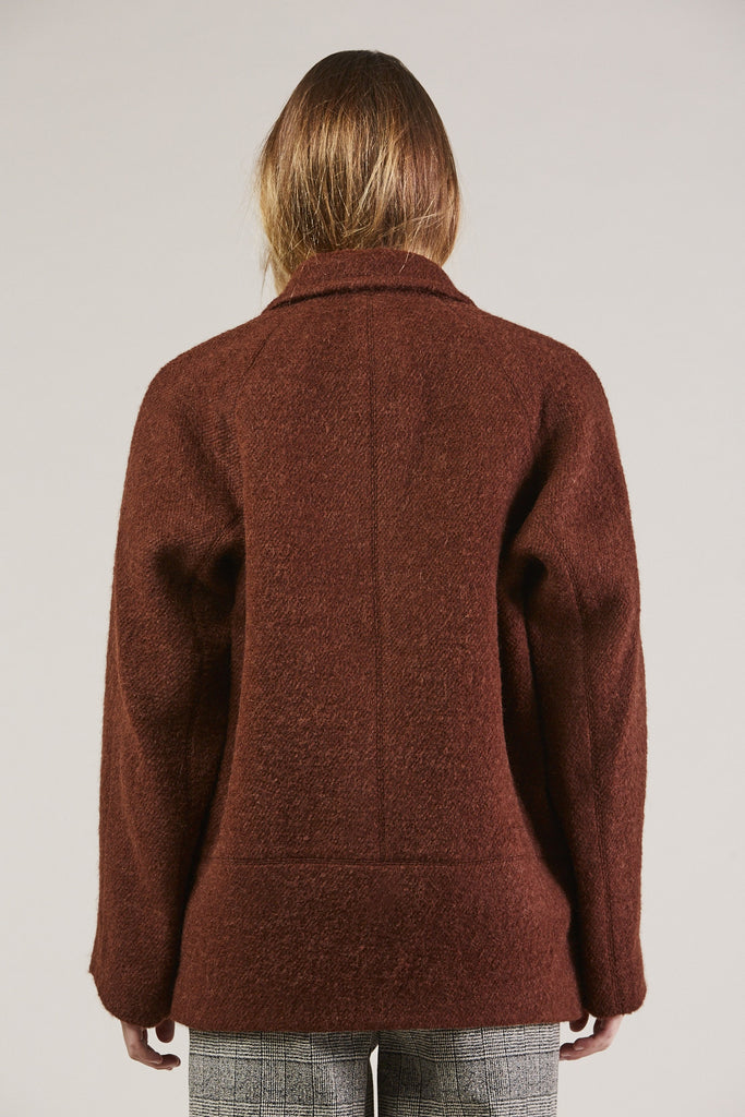 Jacobina Jacket, Rust by Christian Wijnants @ Kick Pleat - 6