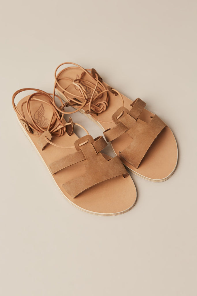 Polyxeni Sandals, Cappuccino by Ancient Greek Sandals