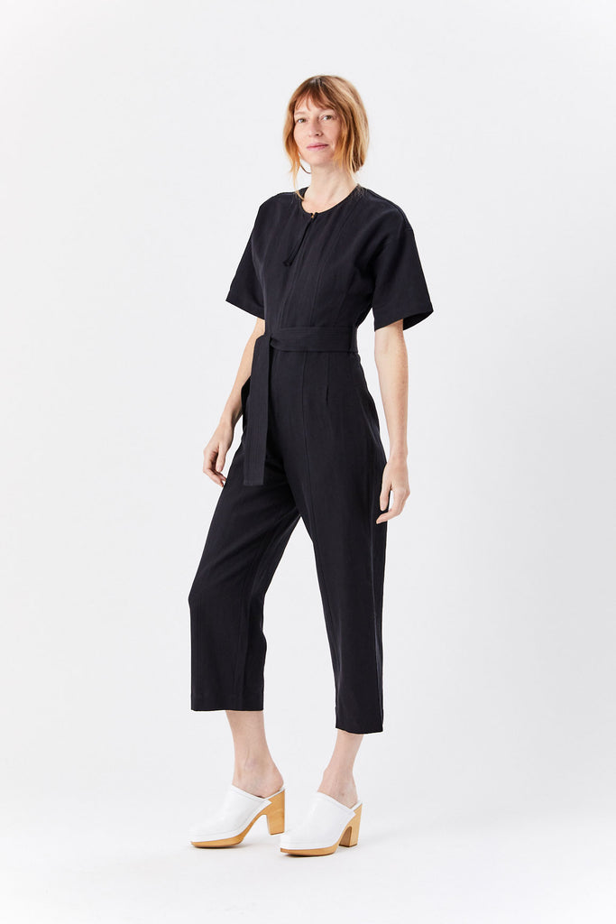 Champeta Jumpsuit, Black