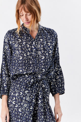 Core Bravo Top, Sevilla Floral Navy