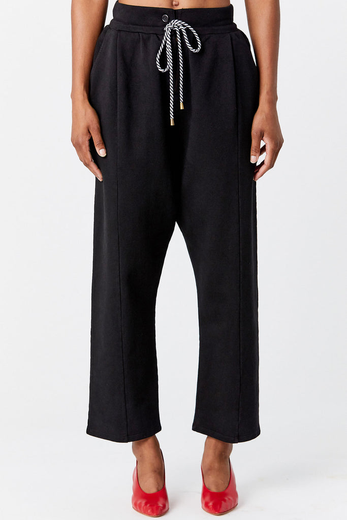 APIECE APART - Hera Sweat Pant, Black