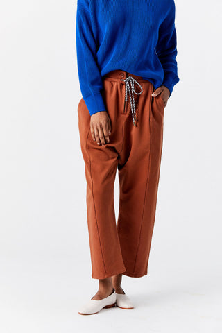 Hera Sweat Pant, Copper