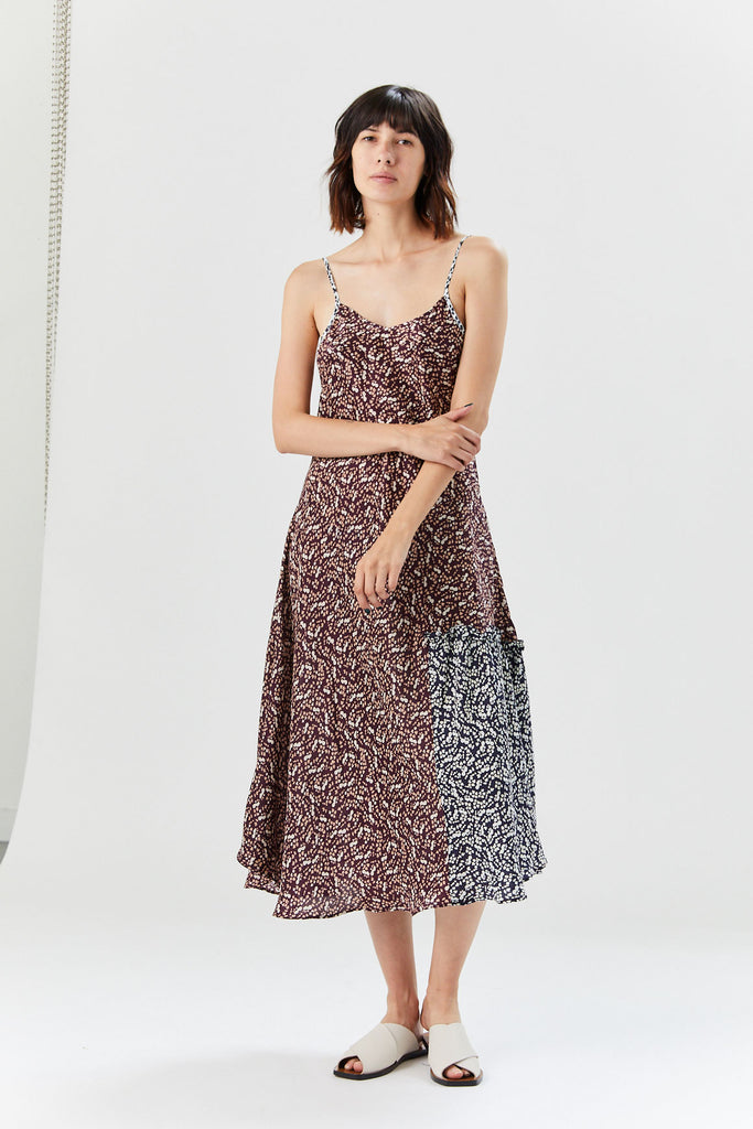 Apiece Apart - Lilas Slip Dress, Berry