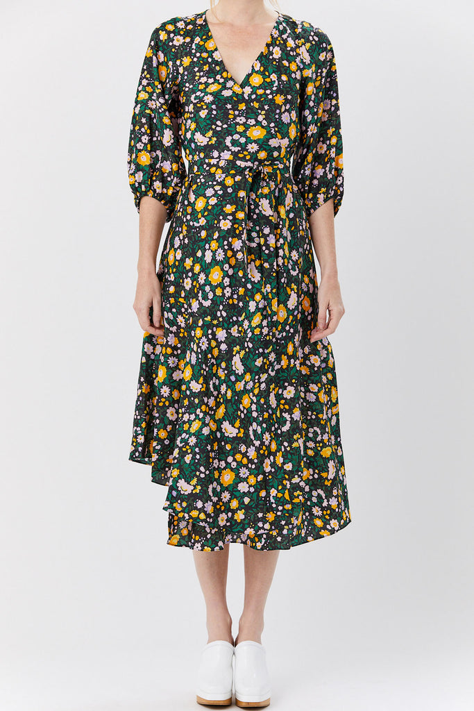 APIECE APART - Sierra Dress, Floral Print