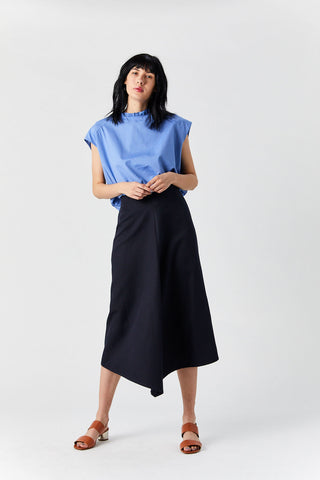 Jupe Sharp Skirt, Navy