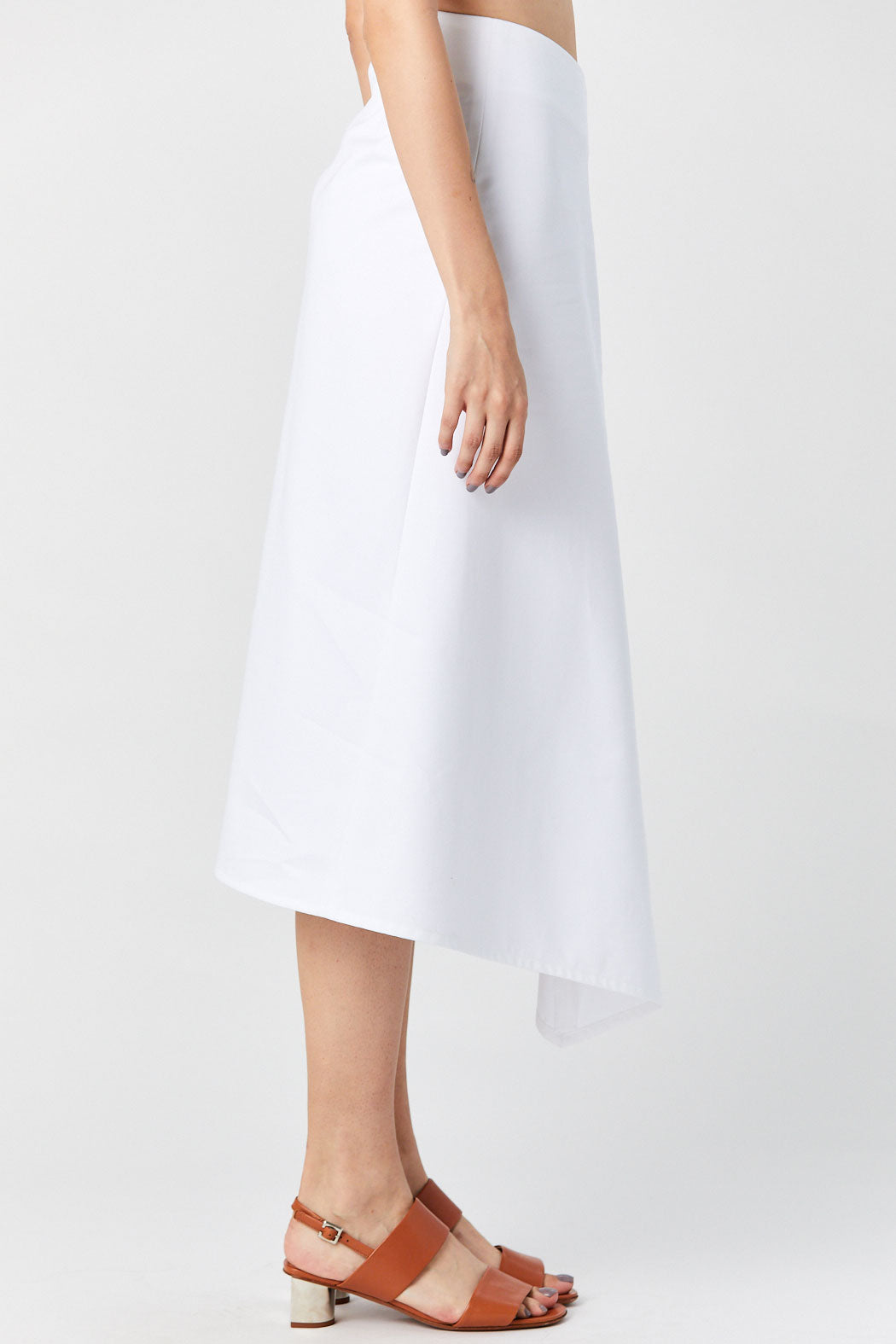 Atlantique Ascoli - Jupe Sharp Skirt, White