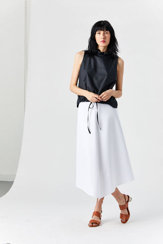 Jupe Sharp Skirt, White