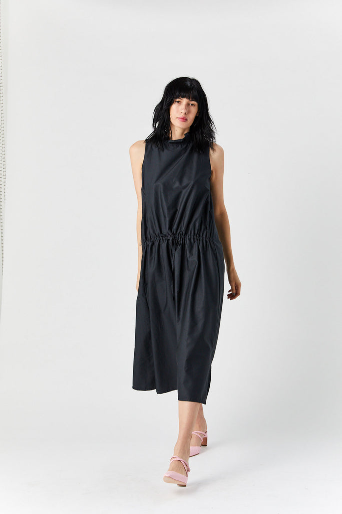 Sleeveless Dress, Black