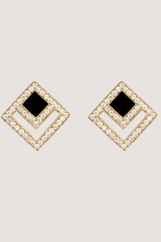 eclipse diamond studs
