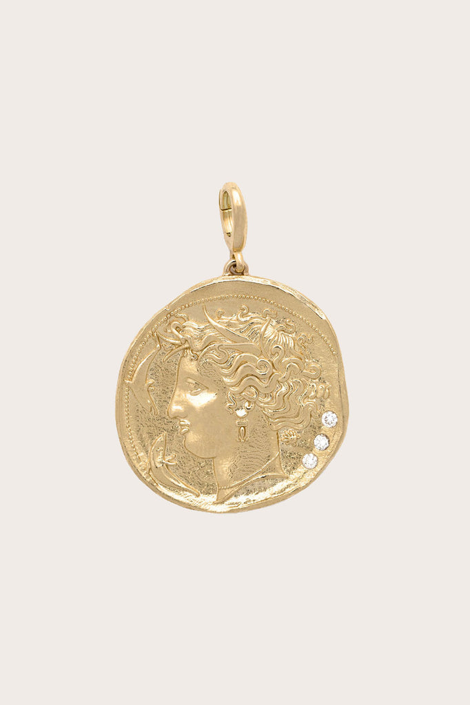 Large Goddess Coin, Gold