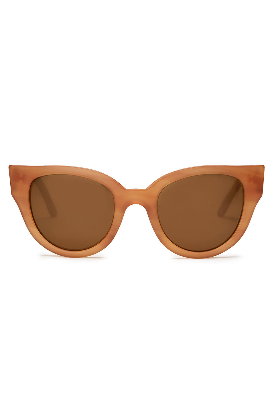 CARLA COLOUR - BARTON sunglasses, cedar